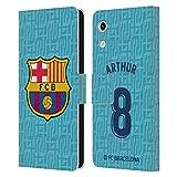 Head Hülle Designs Offizielle FC Barcelona Arthur Melo 2019/20 Spieler Third Kit Gruppe 1 Leder Brieftaschen Huelle kompatibel mit Huawei Honor Play 8A