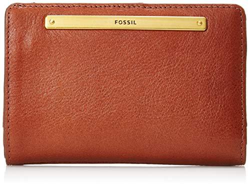 Fossil Women's Liza Leather Multifunction Wallet, Brown