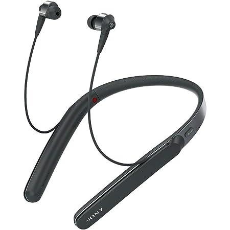 ソニー ワイヤレスノイズキャンセリングイヤホン WI-1000X : Bluetooth/ Amazon Alexa搭載 /ハイレゾ対応 最大10時間連続再生 カナル型 マイク付き 2017年モデル ブラック WI-1000X B