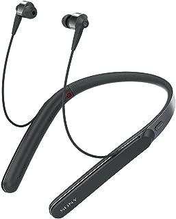 索尼 SONY 无线降噪耳机 WI-1000X : 支持高解析度/蓝牙功能 最长可连续播放10小时 入耳式 附带麦克 2017年款 黑色 WI-1000X B