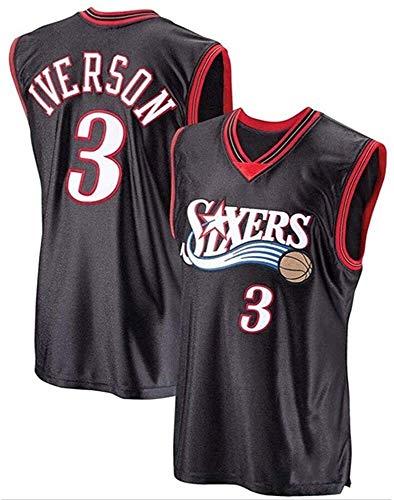 Los Hombres de Jersey NBA, Allen Iverson # 3 76ers Fan Uniforme...