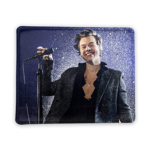Harry_Styles Men Mouse Pad Personalized Non-Slip Mouse Mat Cool Desk Pad for Office,Computer,Professional Esports