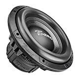 TIMPANO 12' Sub D4 2500 Watts Max Power Dual 4 Ohm, 12 Inch Car Subwoofer 23.5 mm High Xmax, TPT-T2500-12 D4, 3 in Voice Coil, Competition Sub Woofer for Car Audio Systems (Single)