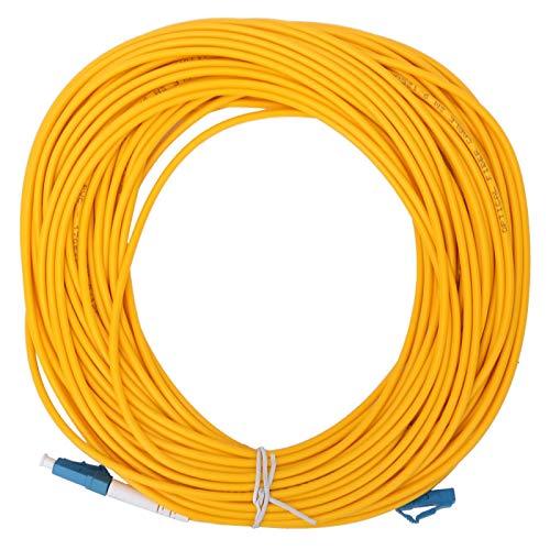 Socobeta Férula de cerámica 3m m LC/UPC - PVC del cable del remiendo de la fibra del solo modo del LC/UPC para la transmisión de