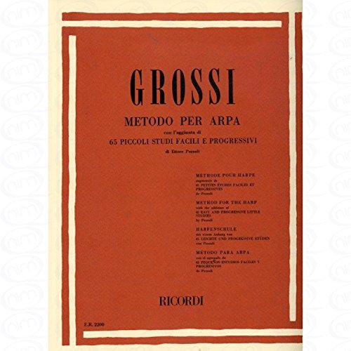 METODO PER ARPA - arrangiert für Harfe [Noten/Sheetmusic] Komponist : GROSSI MARIA