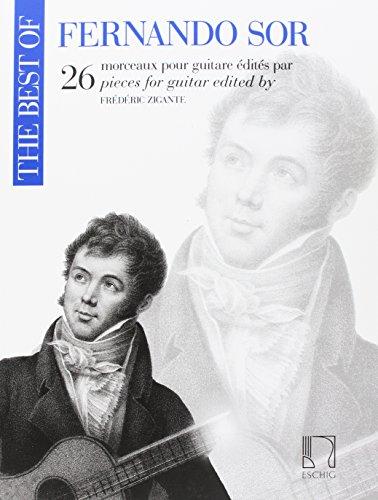 The Best of Fernando Sor 26 Pieces for Guitar