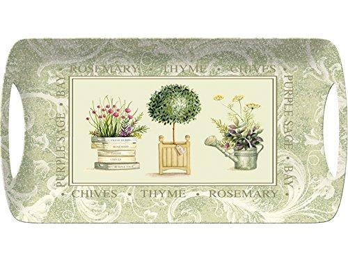 CREATIVE TOPS Topiary Großes Serviertablett, 47 x 32 cm (18½ x 12½ Zoll), Plastik, One Size