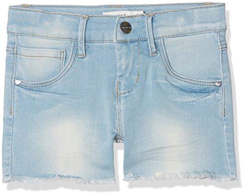 NAME IT NAME IT Mädchen NKFSALLI DNMTIA 1003 NOOS Shorts, Blau (Light Blue Denim Light Blue Denim), 110