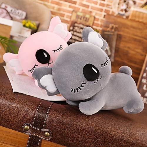 35-75cm Koala Spielzeug Teddy Tierfüllte Koala Plüschkissen Große Größe Kissen Spielzeug für Kinder Grau Rosa Geburtstagsgeschenk Laimi (Color : Gris, Size : 60cm)