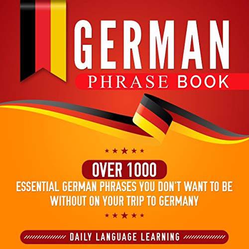 German Phrase Book audiobook cover art