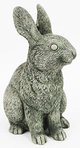Rabbit Garden Statues Concrete Bunny Outdoor Ornamental Cement Sculpture