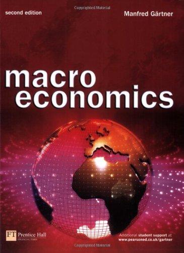 Macroeconomics by Manfred Gartner (2006-03-23)