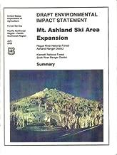 Draft Environmental Impact Statement : Mt. Ashland Ski Area Expansion