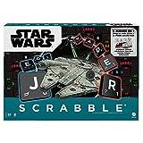 Mattel Games Scrabble Star Wars, juego de mesa para niños de +10 años, incluye cartas (Mattel HDX15)