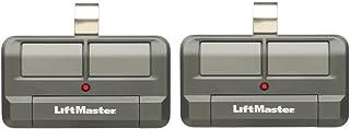 Lot of 2 LiftMaster 892LT 2 Button Visor Learning Garage Door Remote
