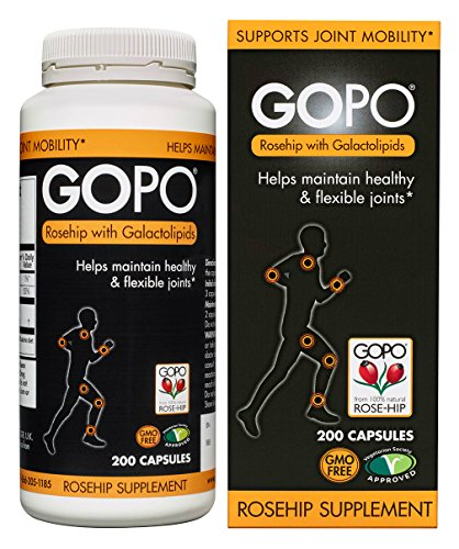 Gopo Rose Hip Joint Health Vitamin C Capsules, Pack of 200