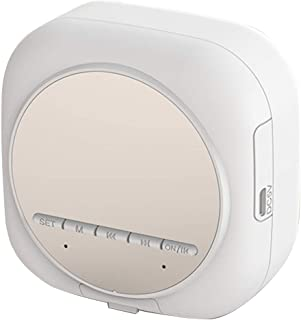 $49 » DFGADF Mini Wireless Speaker, Portable Bluetooth Speaker with 2 Kinds of Brightness Adjustment and LED High-Definition Mir...