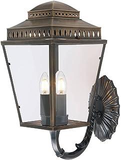 Lampadaire Inglenook 2x60W - Bronze noir - Boutica-Design - qzinglenookfl