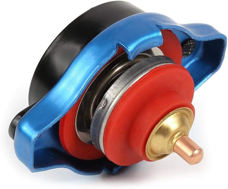Auto Wassertank K/ühlerdeckel Wassertemperaturanzeige 1.3 Bar Universelle 0,9//1,1//1,3 BAR Thermostatischer K/ühlerdeckel Kuehlerverschlussdeckel mit Wassertemperaturanzeige