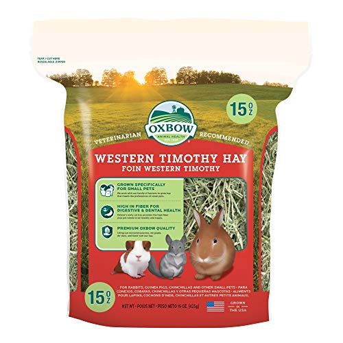 Oxbow Bene Terra HAY for Rabbits Guinea Pigs Chinchillas WESTERN TIMOTHY 425 g