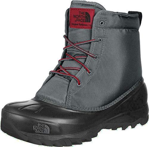 The North Face M Tsumoru Boot, Chaussures de Randonnée Hautes Homme, Gris (Zinc Grey/TNF Black Qh4), 42 EU