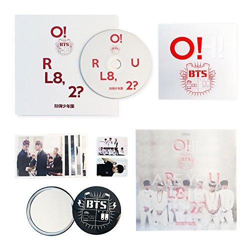 BTS 1st Mini Album - [ O!RUL8,2? ] CD + Photobook + Photocard + Folded Poster(On Pack) + FREE GIFT / K-POP Sealed
