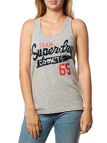 Superdry Damen Tanktop grau L