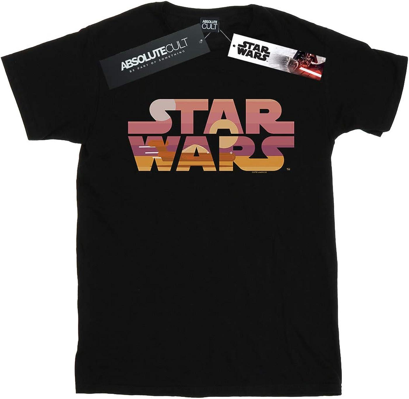Star Wars Boys Tatooine Suns Logo T-Shirt