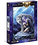 Clementoni- Anne Stokes Collection-Protector Puzzle, 1000 Piezas, Multicolor (39465.4)