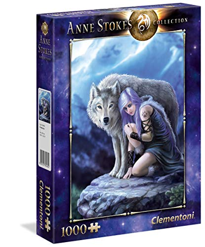 Clementoni Collection Puzzle 1000 Piezas Anne Stokes Protector, Multicolor (39465.4)