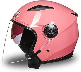 WZXH Full Face Motorcycle Helmets,Motorbike Half Helmet with Sun Shield for Men and Women Adjustable Size,Motorcycle Crash Helmet