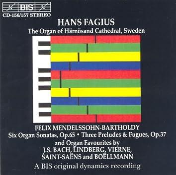 Mendelssohn / Bach / Saint-Saens / Boellmann / Lindberg / Vierne: Organ Music
