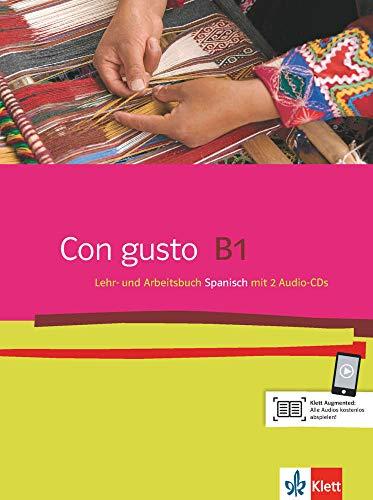 Con gusto B1: Lehr- und Arbeitsbuch + 2 Audio-CDs