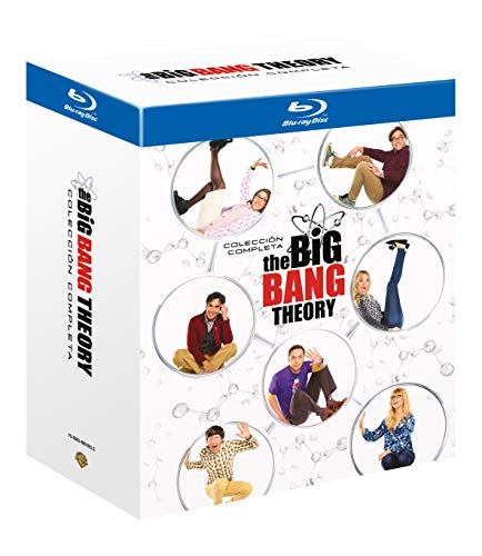 The Big Bang Theory - Colección Completa Temporada 1-12 Blu