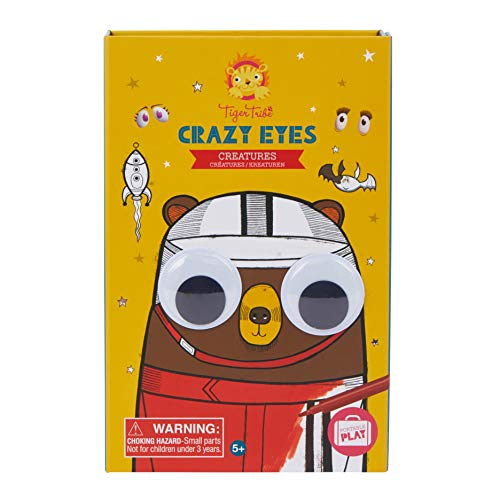 Tiger Tribe Crazy Eyes Creatures Coloring Set