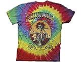 Ripple Junction Grateful Dead Bertha Deco Frame Adult T-Shirt Small Multicoloured