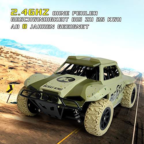 RC Auto kaufen Short Course Truck Bild 6: Maximum RC Ferngesteuertes Auto für Kinder ab 8 - 4WD Short Course Truck - Wüstenbuggy mit proportionaler Beschleunigung und Allradantrieb*