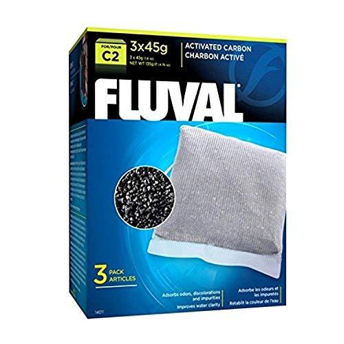 Fluval Schwamm für die mechanische Filtration mit Aktivkohle für Filter C2