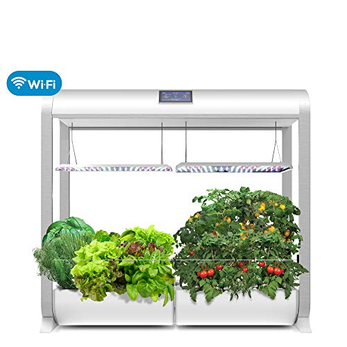 AeroGarden 900961-1100 Farm 24Plus (Classic Version), 24' Grow Height, White