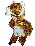 Tiger-Kostüm, F14 Gr.80-86, für Klein-Kinder, Babies, Tiger-Kostüme für Fasching Karneval, Kleinkinder-Karnevalskostüme, Kinder-Faschingskostüme, Geburtstags-Geschenk Weihnachts-Geschenk