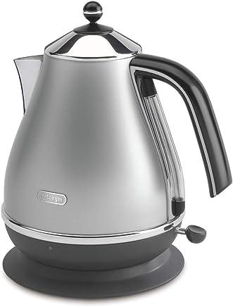 DeLonghi Icona, Electric Kettle 1.7L, KBO2001S, Silver