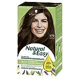 SCHWARZKOPF - Natural & Easy - Coloration Permanente Naturelle Cheveux - Châtain 570