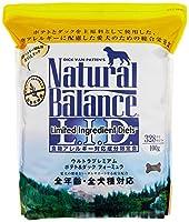 ナチュラルバランス ポテト&ダック アレルギー専用 (全犬種/全年齢対応) 16.35kg(5.45kg×3袋)