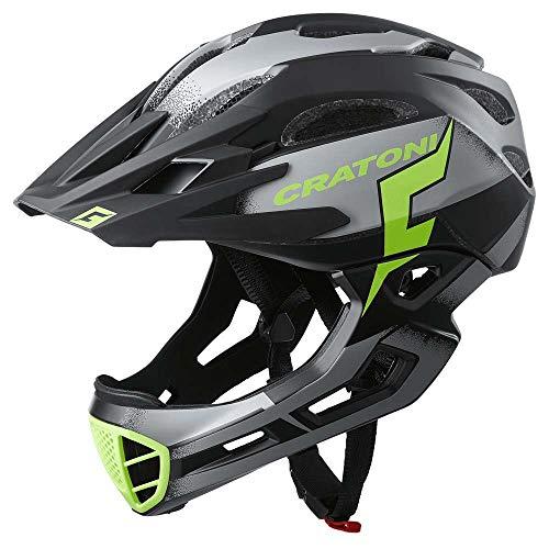 Cratoni C-Maniac Pro MTB Helm Black/Lime Matte Kopfumfang L/XL | 58-61cm 2020 Fahrradhelm