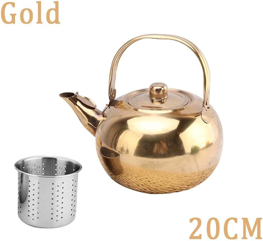 WOAILUO 2021new shipping free Fast Boil Silver or Gold Coffee Tea Craft Stovetop Award-winning store with