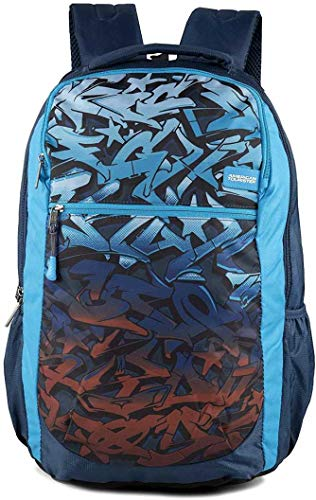 American Tourister Tango Nxt 01 Blue Casual Backpack