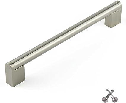 Boss Bar Kitchen Cabinet Door Handle Cupboard Drawer Bedroom Furniture Handles Brushed Steel 128mm Amazon Co Uk Diy Tools