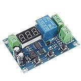 Módulo de fuente de alimentación XH-M608 DC6-40V Módulo de descarga de carga de batería integrado Voltímetro de protección de subtensión y sobretensión Temporización de carga y descarga