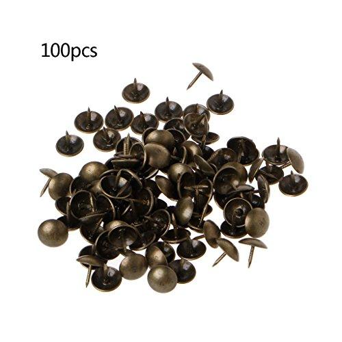 Hothap 100 stuks antieke messing brons kussens nagel sieraden cadeau wijn geval box sofa decor