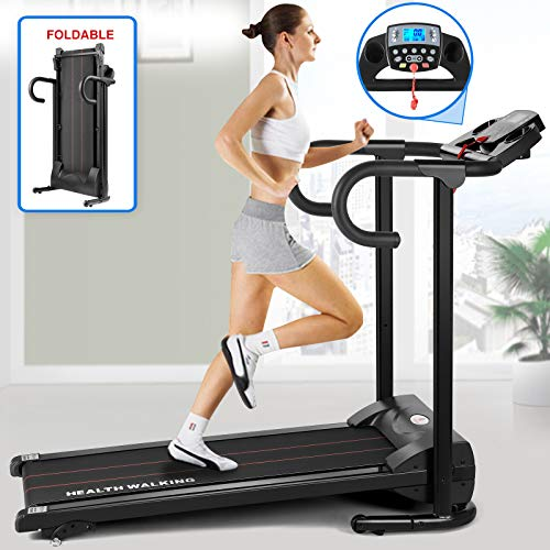 Fitnessclub Folding Electric Motorised Treadmill...
